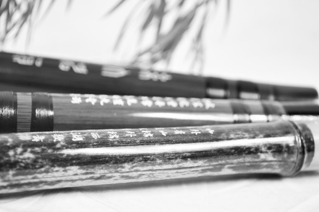 Dizi (Chinese Bamboo Flutes)